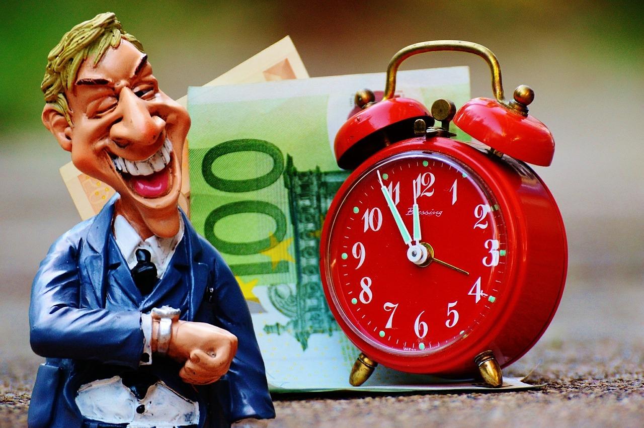 tempo ou dinheiro