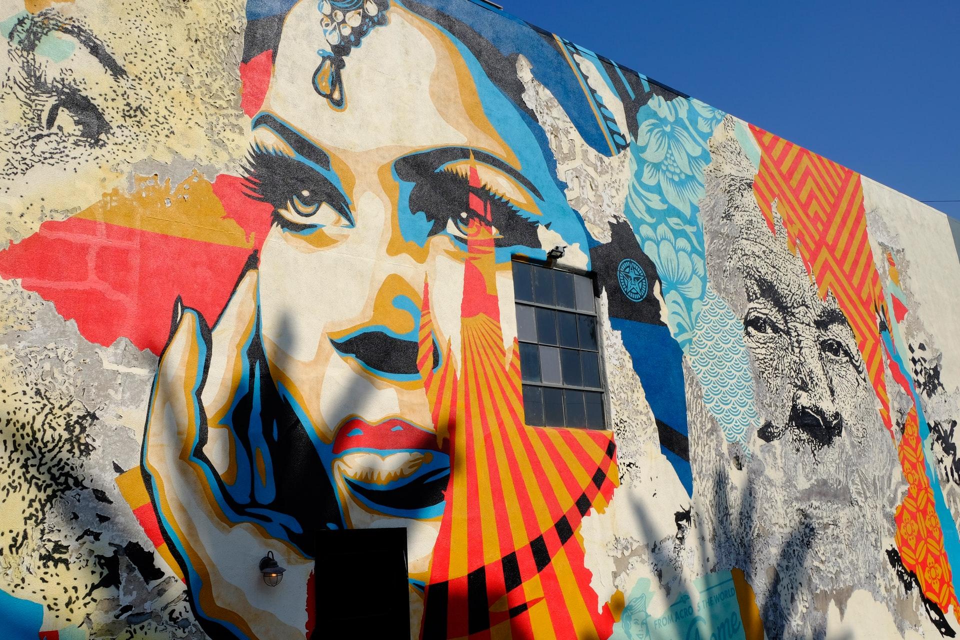 mural urbano pintado