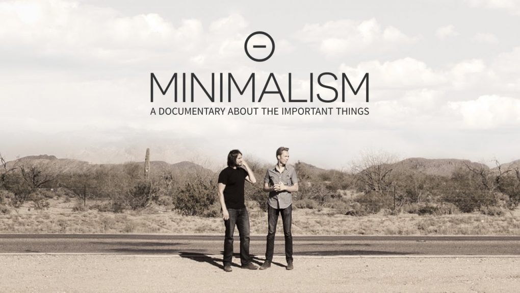 cartaz do documentário minimalism