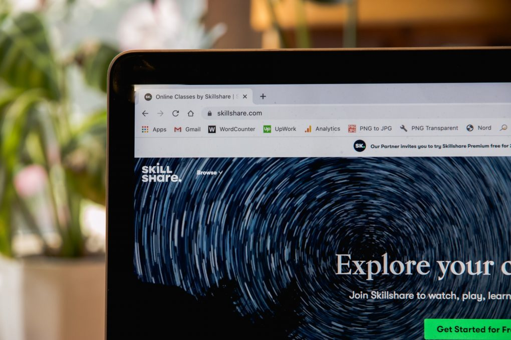 skillshare abertos cursos online