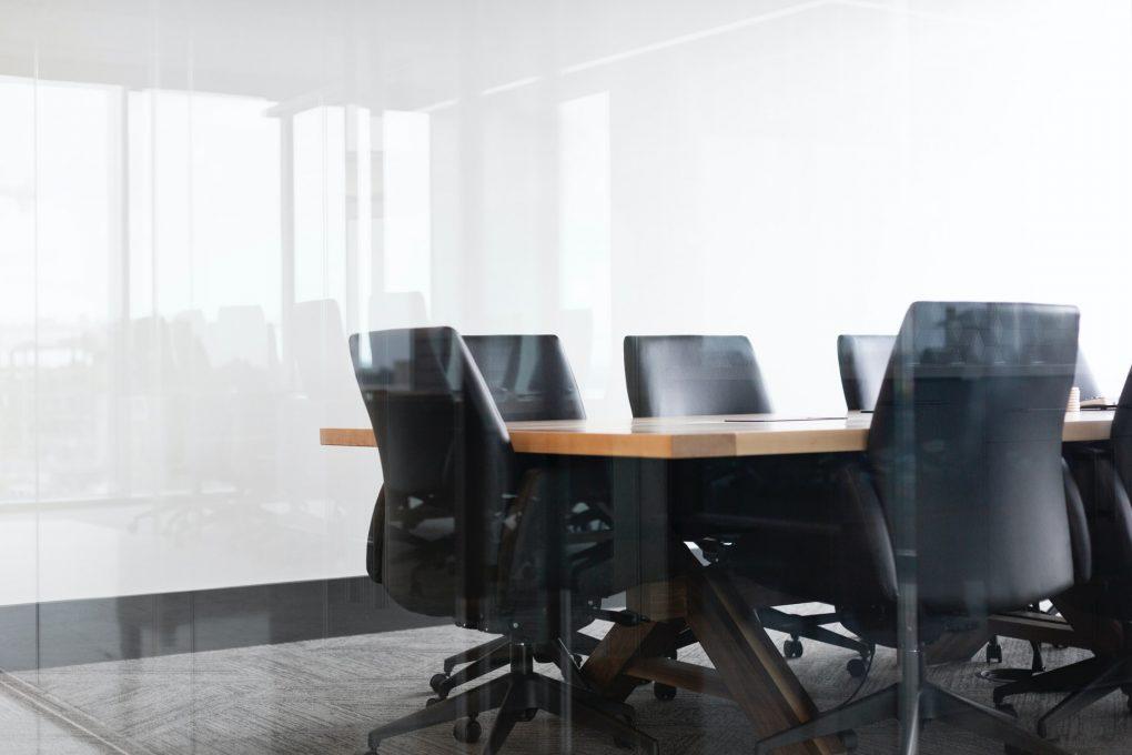 sala de reuniões vazia