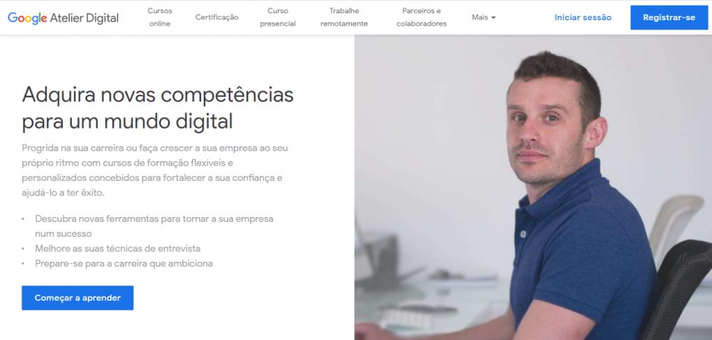 curso de marketing digital atelie digital da Google
