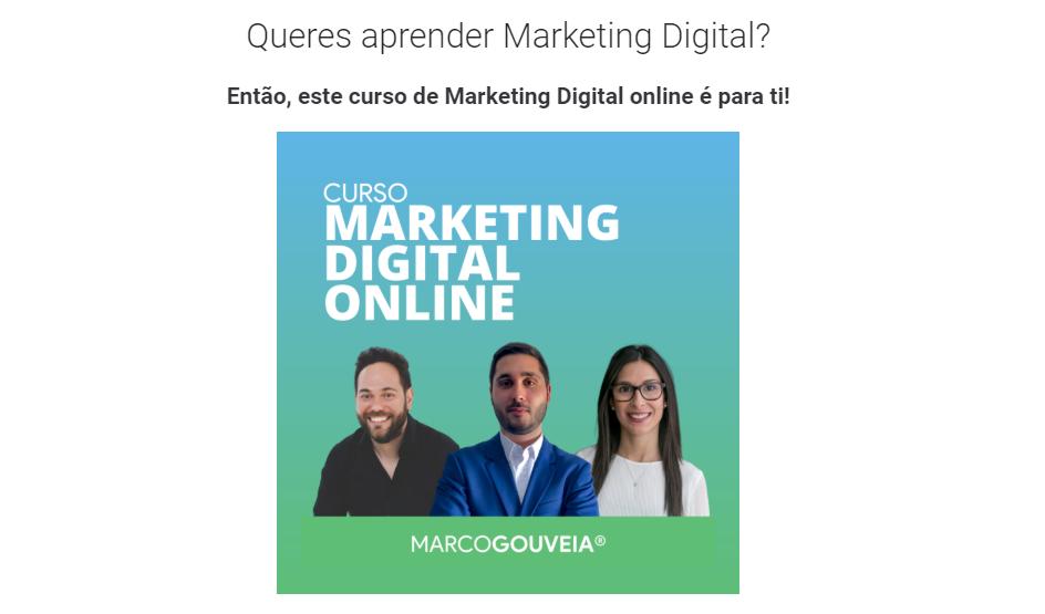 curso marketing digital marco gouveia