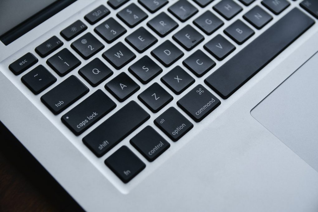 teclado de um imac