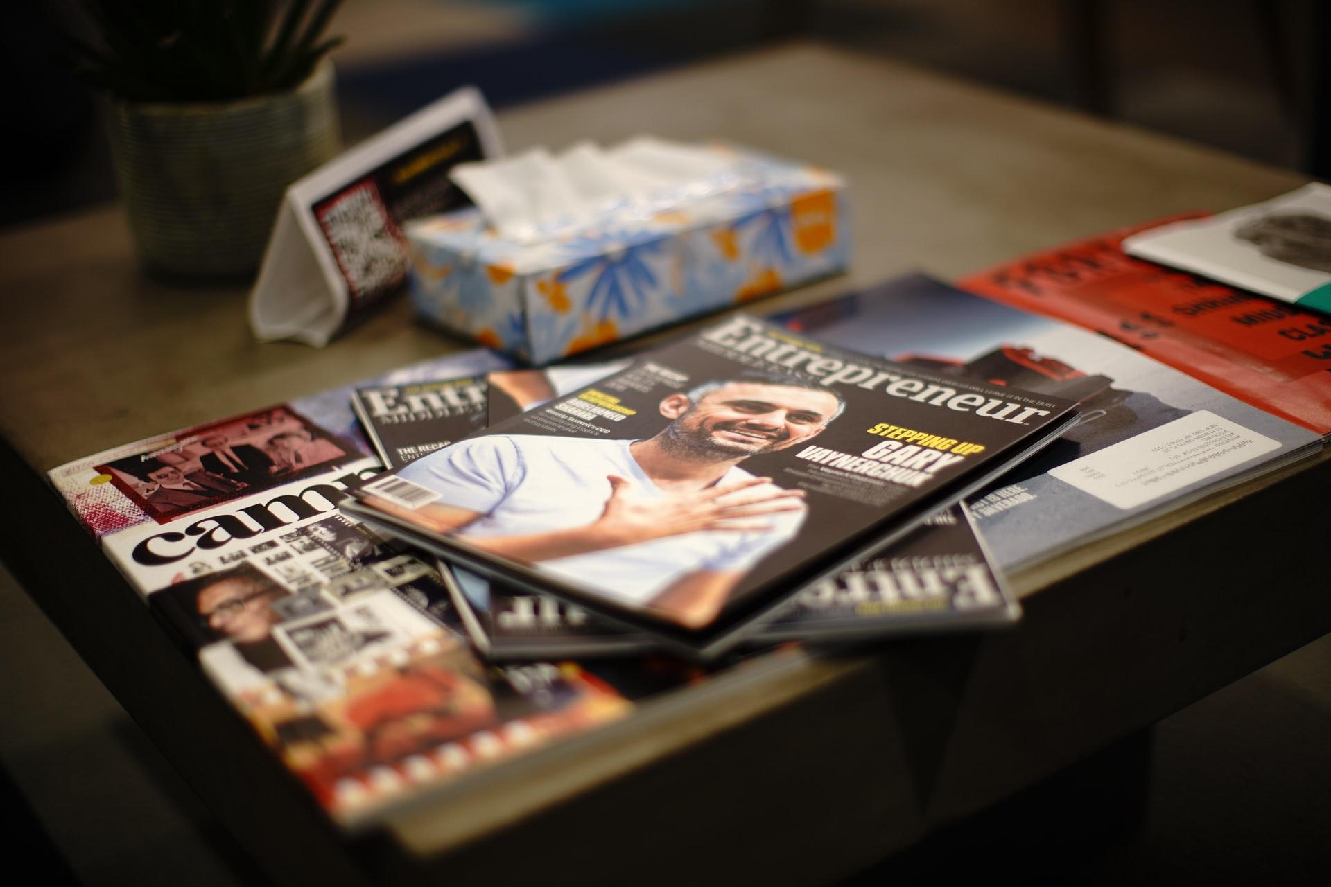 revistas com o gary vaynerchuck