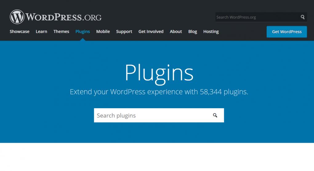 plugin wordpress pagina oficial