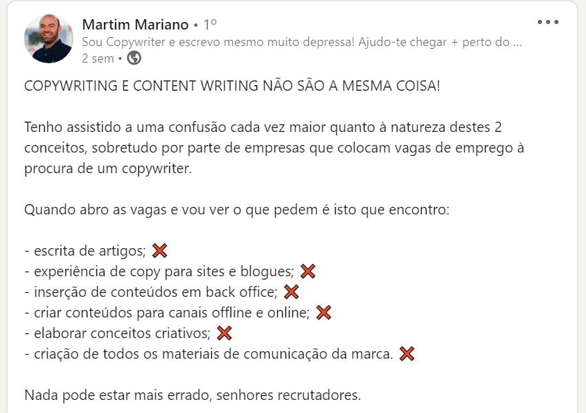copywriter martim mariano content writing