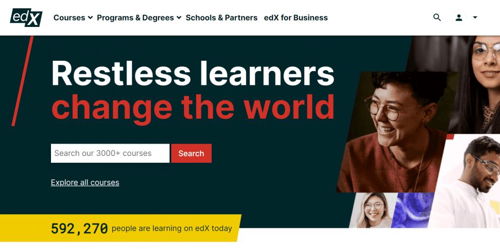 website edx de cursos online