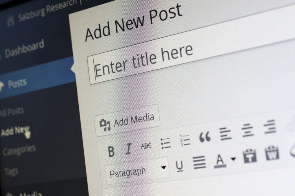 add new post in wordpress desafio 30 dias para blog