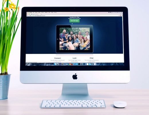 monitor apple a mostrar alojamento wordpress