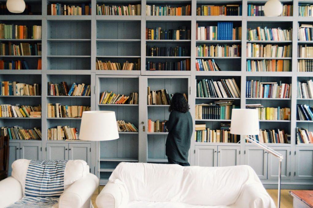 biblioteca privada em casa para ler mais
