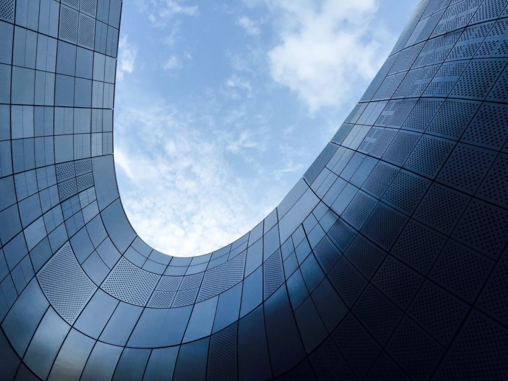 edificio moderno de uma agencia de marketing digital