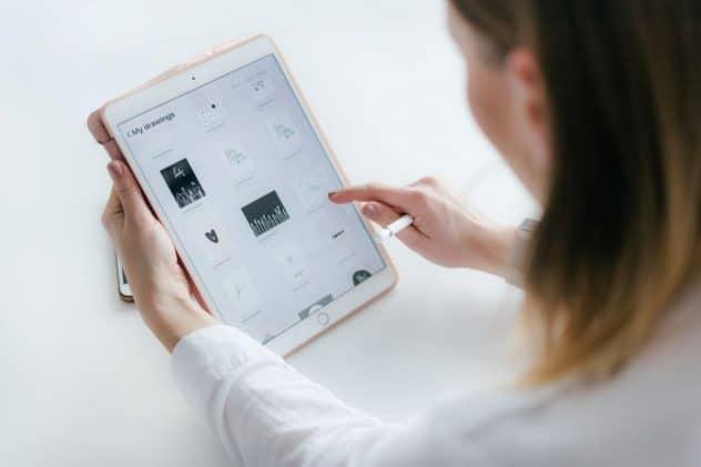 reaproveitar conteúdo agenda de conteúdos no ipad