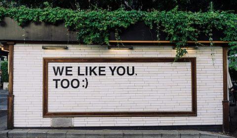 the social dilemma we like you too wall