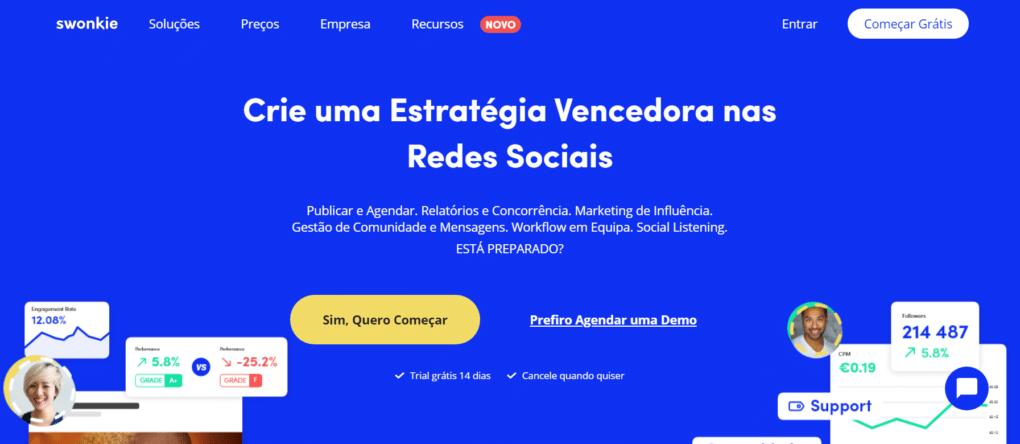 ferramentas para agendar posts swonkie portugal